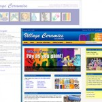 New Village Ceramic website