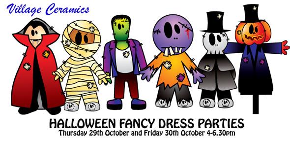 halloween fancy dress party