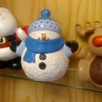 Christmas figures at Village Ceramics