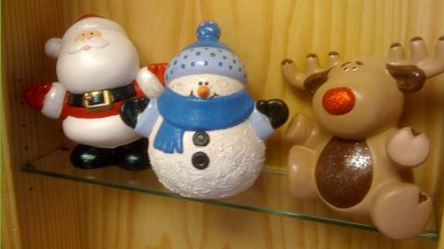 christmas figures at village ceramics - Christmas Ceramics