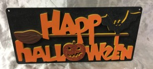 Halloween plaque123