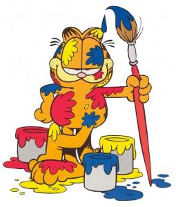 Garfield-painting-1