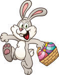 cartoon-easter-bunny-jumping-with-egg-basket-vector-clip-art-illustration-with-simple-gradients-all-in-a-single-layer_182715911